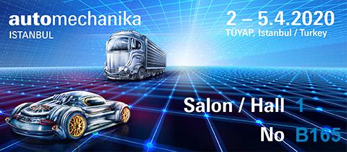 Automechanika İstanbul Fuarı Katılımımız